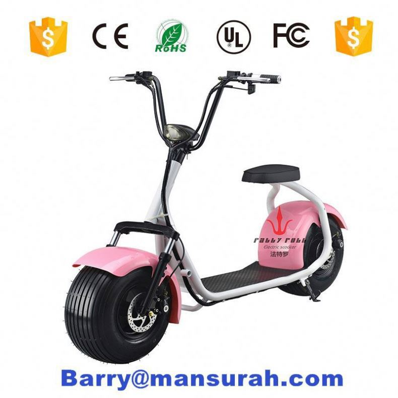 Elec Bear Electric Bluetooth Harley Citycoco Scooter ES8004