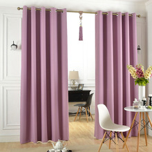 Block Sunlight and Ultraviolet Grommet Thermal Insulated Curtains for The Living Room