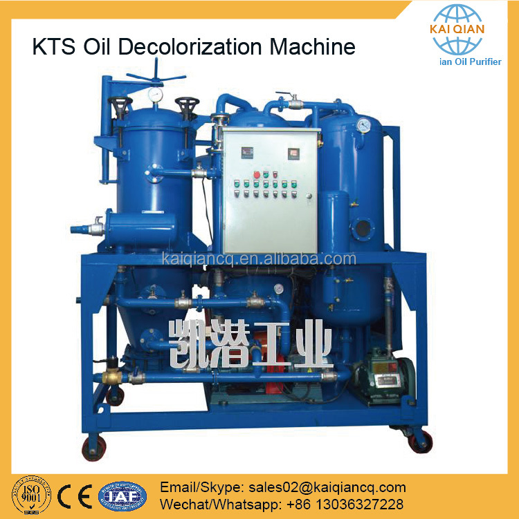 Multi-functional Used Oil Decolorization Waste Oil Purifier Equipment