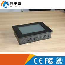 Intel NM10 Chipsets mini notebook touch screen computer characteristic New Design all in one pc with 80/80/80/80 Viewing Angle