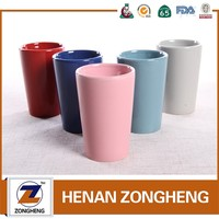 China supplier stoneware mug ceramic coffee cups without handle