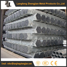 Brand new bs 1387 galvanized steel scaffolding pipe weights building materials tube
