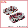 Beverage & food serving tasteless portable cat cartoon print food trays for girls