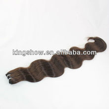 Two tone color twisted brazilian hair weft weave weaving extensions