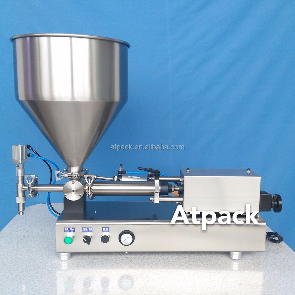 Atpack high-accuracy semi-automatic honey pomelo tea filling machine with CE GMP