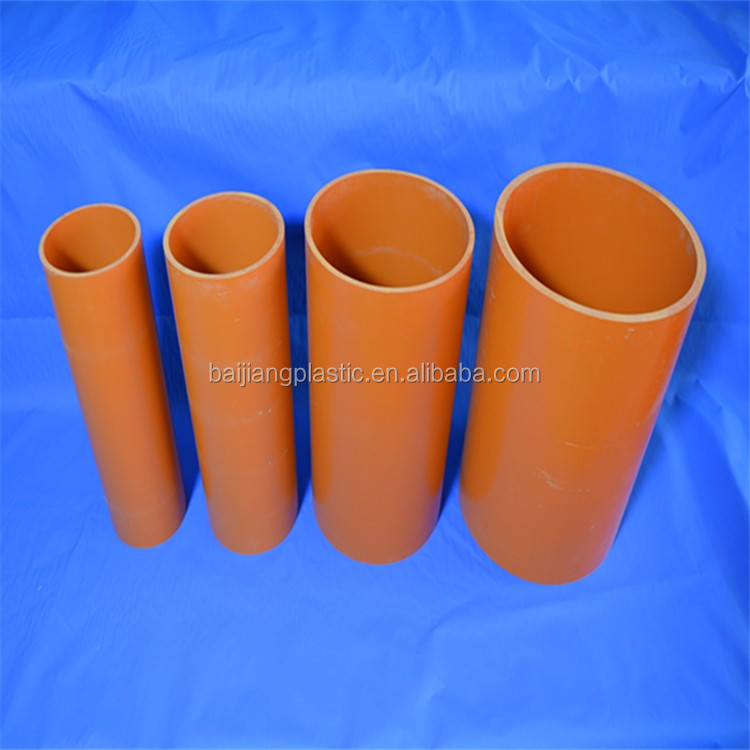 BAIJIANG Types of Insulation Materials Electrical Underground Power Cables Pipe