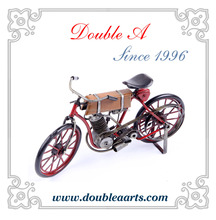 Wholesale metal crafts vintage metal bicycle model latest bicycle model and prices decorative home decor
