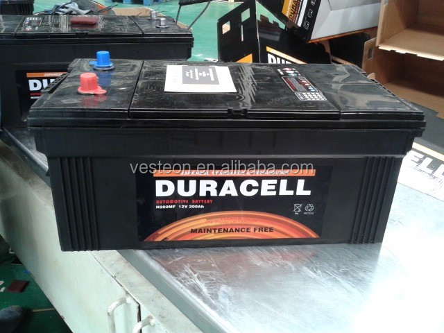 China VESTEON 12V car battery price from 32ah to 220ah