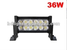 2012 hot sale 36W auto parts offroad led light bar/ led light bars offroad 4x4 4wd