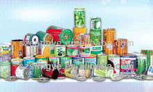 decorative round tin cans with lids, round can