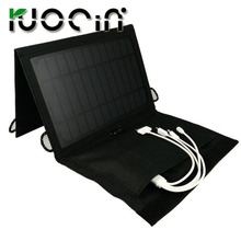 hot sell portable solar mobile charger cover 7w solar charge bag wireless with waterproof