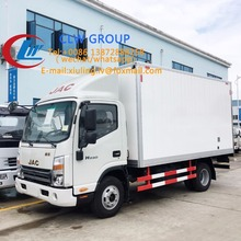 CLW JAC refrigerated truck with carrier transicold freezer unit or thermo king unit