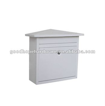 GH-2013 galvanized iron wall mounted mailbox