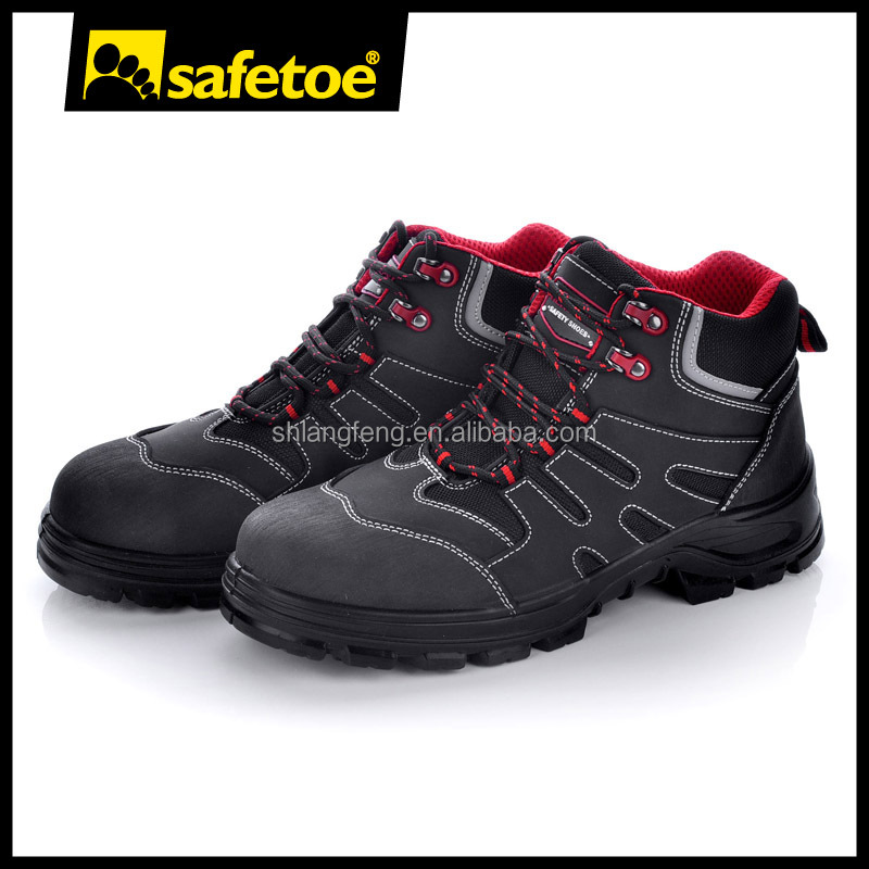 Asia work shoes manufacturer, flexible sole work footwear
