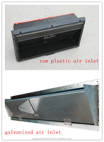 plastic poultry house air inlet