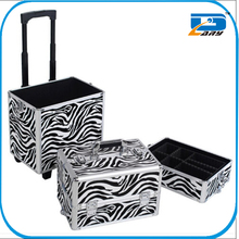 China professional beauty case trolley/hairdresser trolley case