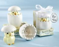 Hatch Ceramic Baby Chick Salt Pepper Shakers