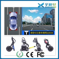 Car 360 degree security camera system with Shenzhen factory price