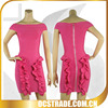 2014 pink short sleeves bubble hem cocktail dresses bandage for night out