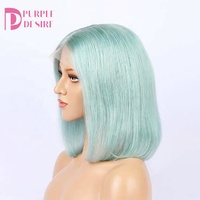 bob lace frontal wig ombre silky straight brazilian hair best selling female high quality lace front wig