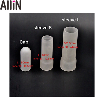 Silicone Sleeves for all Penis Enlargement Extender Stretcher Pump Hanger Enlarger Penis sleeve phallosan condom size master