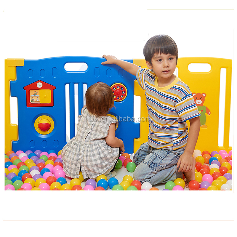 New Design Plastic Baby Pet Playpen, Folding Safety Toddler Game Fence, Square Round Playpen