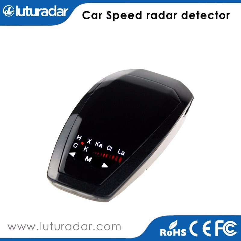 Car Speed Police Radar Detector VB with <strong>K</strong> KA band Russian/ English Voice LED display