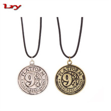 Latest design Harry Film Vintage Style Alloy Men round Charm Pendent with number 934