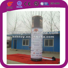 Oxford cloth commercial long inflatable light tube for advertising