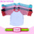 Baseball sport tee shirt personalized blank frock design cotton boutique 3/4 raglan curved hem teenager top shirt wholesale