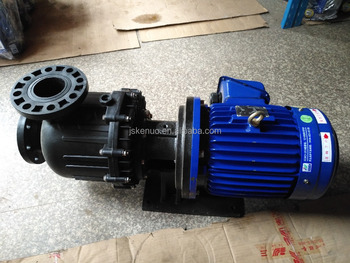 FRPP/PVDF anti-corrosion centrifugal self priming water filter pump for water treatment plant