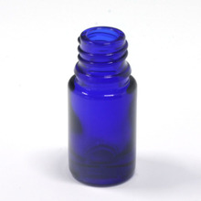 5ml small blue unique perfume glass bottle cosmetics bottle glass essential oil bottle with new design