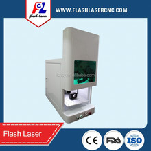 100000 working hours fiber laser plastic marking machine for ear tag/plug 20W