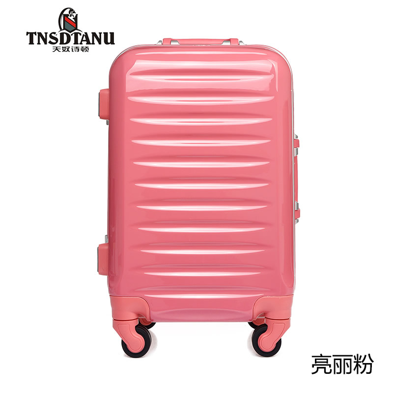 Hard Shell ABS air express travel suitcase 4 Spinner Wheels Holiday Travel Bag luggage