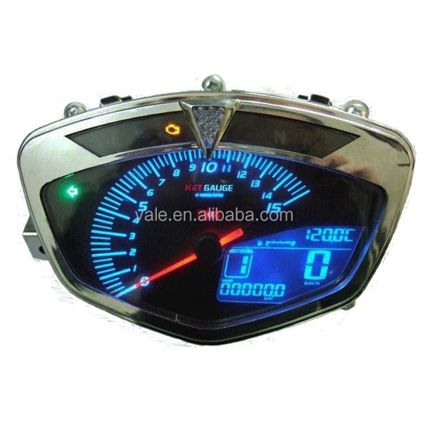 Best quality LCD KOSO motorcycle digital speedometer