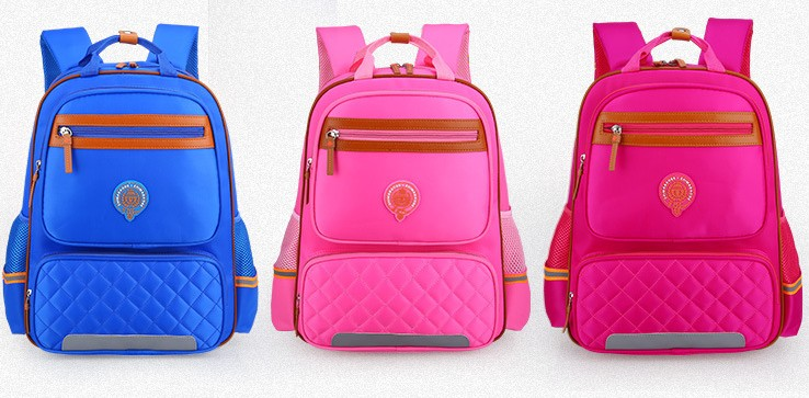 Ergonomic design cheap cute light weight big capacity waterproof kids backpack