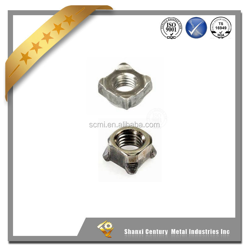 Hot sale low price China fastener manufaturer jis square weld nuts