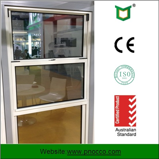Bathroom Window Design Aluminum Single Hung Window for Sale Made In China