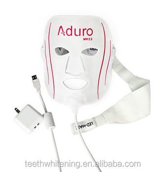 Aduro anti aging led mask light therapy led facial mask