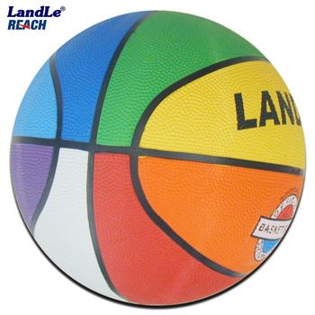official size new style rubber made light material basketball
