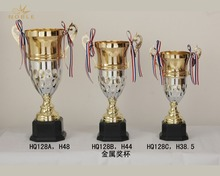 Best Selling Custom Large Silver Metal Trophy Cup For Souvenir