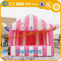 Wholesale Inflatable tent for popcorn , inflatable sweet & ice cream booth tent, inflatable popcorn tent