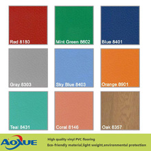 Indoor tennis court pvc sports vinyl flooring covering