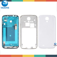 Wholesale Price For Samsung Galaxy S4 i9505 Housing Cover Complete, For Samsung S4 Bezel Plate+Middle Frame+Battery Cover