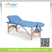 Acrofine Wooden Mildstar-III Sectional Massage Bed and Massage table