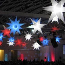 inflatable LED light star balloon for event or decoration