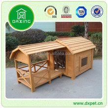 DXDH006 LARGE SLOPED ROOF KENNELS DOG HOUSE PET PUPPY