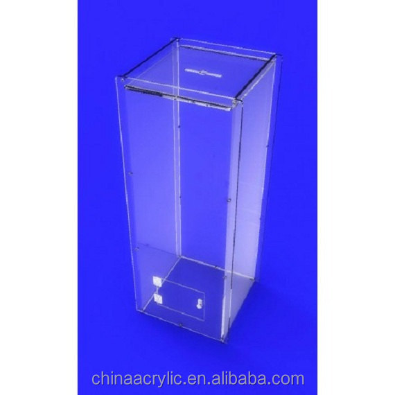 Simple portable clear modern acrylic podium / acrylic lectern podium