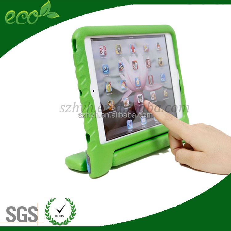 Eva foam Childproof EVA Kids Tablet Case with Handle For iPad 2 3 4 Air Mini Tablet PC Cover