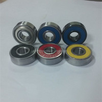 Cheap Custom Printed Skateboard Bearings 608 Precision Quad Inline Skate Bearings for Scooter Wheels
